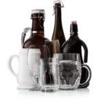 pivové fľaše