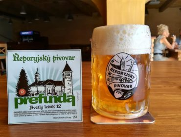 Řeporyje brewery